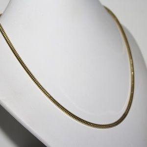 "MILOR 18"" Vermiel .925 Sterling Silver necklace"